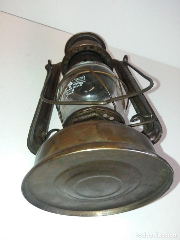 Antigüedades: EXCEPCIONAL GENUINO ANTIGUO FAROL AÑOS 50 S - Foto 16 - 210838316