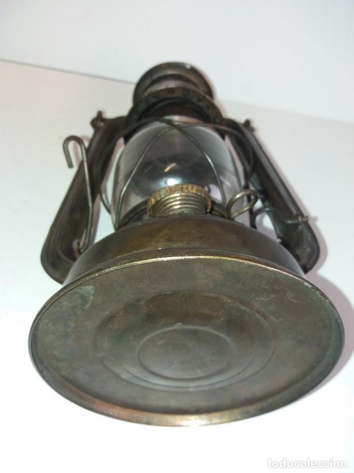 Antigüedades: EXCEPCIONAL GENUINO ANTIGUO FAROL AÑOS 50 S - Foto 17 - 210838316