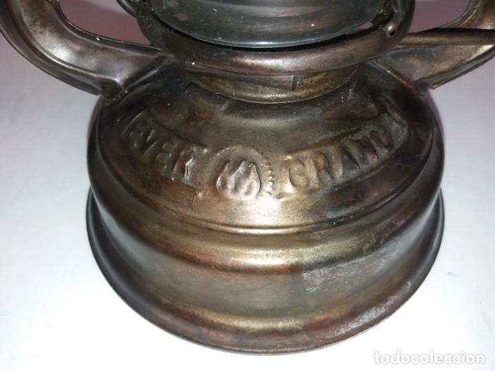 Antigüedades: EXCEPCIONAL GENUINO ANTIGUO FAROL AÑOS 50 S - Foto 31 - 210838316