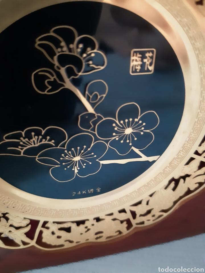 Antigüedades: PLACAS RECUERDO DE NANJING CHINA - Foto 5 - 210839796
