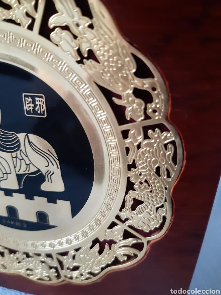 Antigüedades: PLACAS RECUERDO DE NANJING CHINA - Foto 7 - 210839796