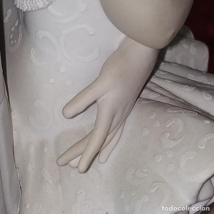 Antigüedades: PAREJA DE BAILARINAS. PORCELANA LLADRÓ. ACABADO MATE. ESPAÑA. SIGLO XX - Foto 9 - 210935940