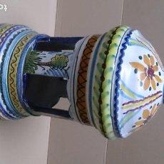 Antigüedades: BONITA LAMPARA DE TERRAZA TALAVERA. Lote 210939786