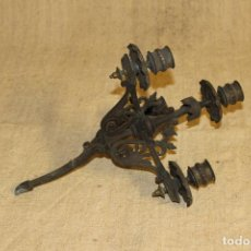 Antigüedades: CANDELABRO DE CALAMINA. Lote 210951694