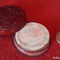 Antigüedades: ANTIGUA POLVERA DE MUJER EN BAQUELITA DE LA CASA LUXANA. Lote 210955991