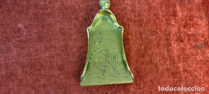 Antigüedades: CONJUNTO DE CHIMENEA EN BRONCE. ESTILO MODERNISTA. SIGLO XX. - Foto 17 - 211262827