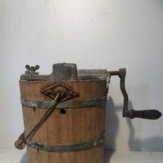 Antiquités: MAQUINA DE HACER HELADOS, MARCA ELMA Nº2 ANTIGUA.. Lote 211264426