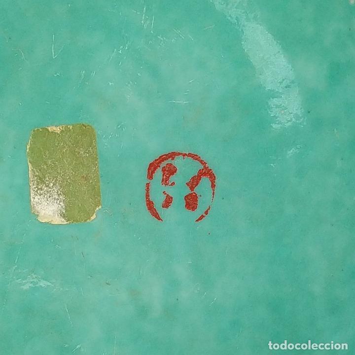 Antigüedades: 2 SOPERAS KAMCHENG. FAMILIA ROSA Y FAMILIA VERDE. PORCELANA. CHINA. FIN SIGLO XIX - Foto 39 - 211389007