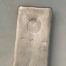 Antiguidades: LINGOTE DE PLATA FINA 999 1 KILO SEMPSA SERIADO. Lote 211394076
