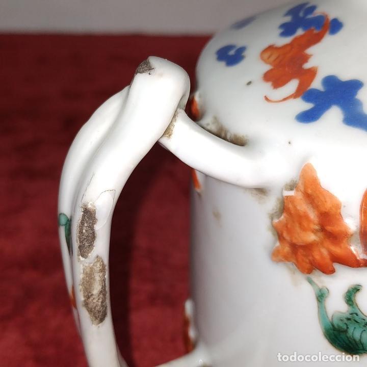 Antigüedades: COLECCIÓN DE 5 TETERAS CHINAS. PORCELANA ESMALTADA. MARCAS DE AXPORTACIÓN. CHINA. XIX-XX - Foto 7 - 211398589