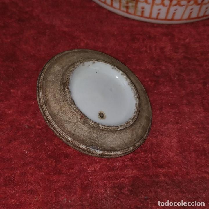 Antigüedades: COLECCIÓN DE 5 TETERAS CHINAS. PORCELANA ESMALTADA. MARCAS DE AXPORTACIÓN. CHINA. XIX-XX - Foto 16 - 211398589