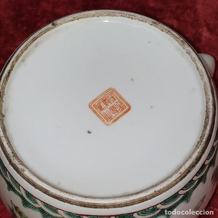 Antigüedades: COLECCIÓN DE 5 TETERAS CHINAS. PORCELANA ESMALTADA. MARCAS DE AXPORTACIÓN. CHINA. XIX-XX - Foto 33 - 211398589