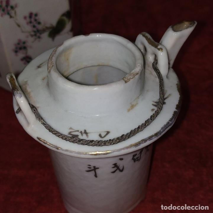 Antigüedades: COLECCIÓN DE 5 TETERAS CHINAS. PORCELANA ESMALTADA. MARCAS DE AXPORTACIÓN. CHINA. XIX-XX - Foto 41 - 211398589