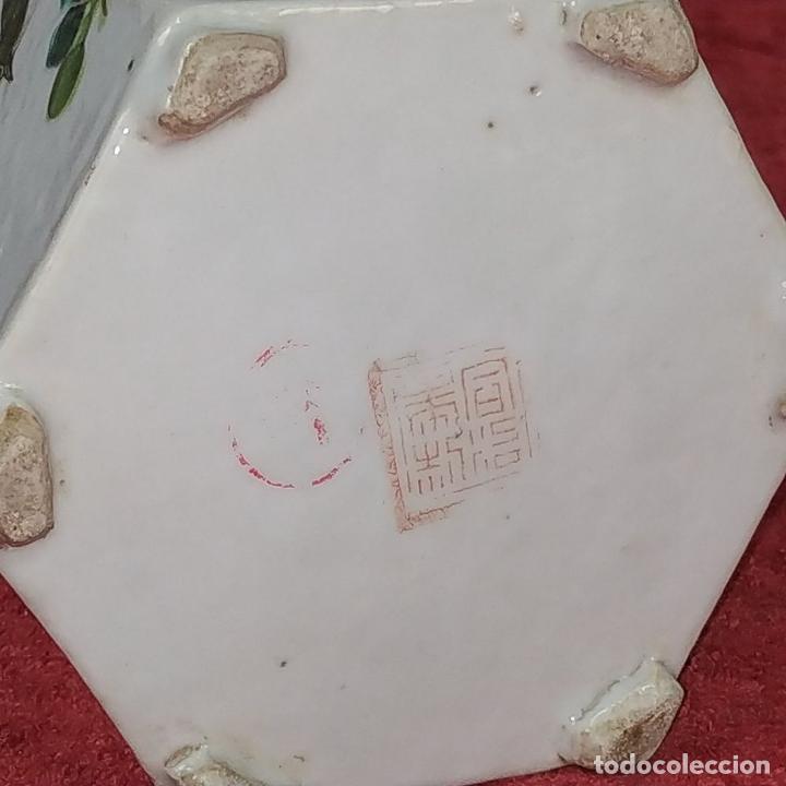 Antigüedades: COLECCIÓN DE 5 TETERAS CHINAS. PORCELANA ESMALTADA. MARCAS DE AXPORTACIÓN. CHINA. XIX-XX - Foto 48 - 211398589