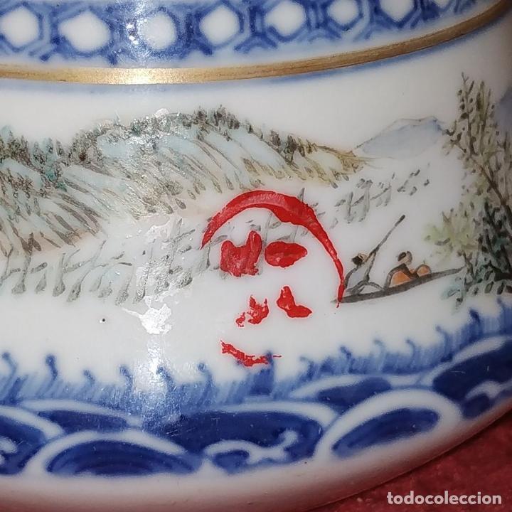 Antigüedades: COLECCIÓN DE 5 TETERAS CHINAS. PORCELANA ESMALTADA. MARCAS DE AXPORTACIÓN. CHINA. XIX-XX - Foto 73 - 211398589