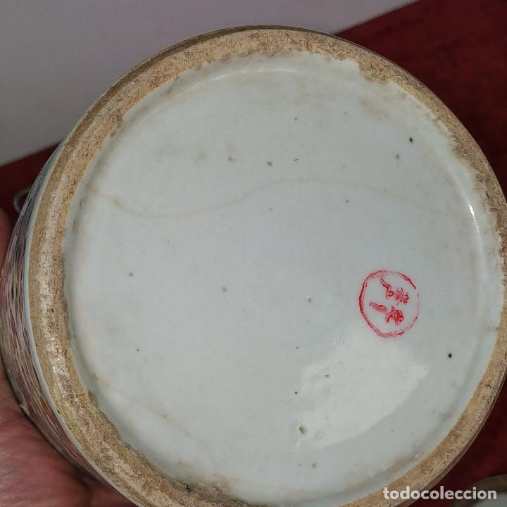 Antigüedades: COLECCIÓN DE 5 TETERAS CHINAS. PORCELANA ESMALTADA. MARCAS DE AXPORTACIÓN. CHINA. XIX-XX - Foto 82 - 211398589