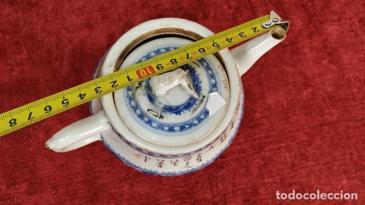 Antigüedades: COLECCIÓN DE 5 TETERAS CHINAS. PORCELANA ESMALTADA. MARCAS DE AXPORTACIÓN. CHINA. XIX-XX - Foto 87 - 211398589