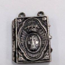 Antigüedades: ESCAPULARIO O RELICARIO ANTIGUO ORDEN CARMELITA. Lote 211400884