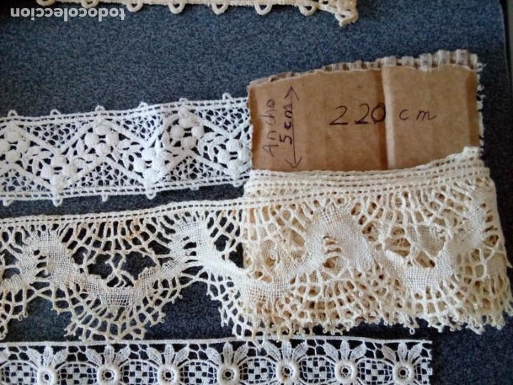 Antigüedades: Encaje - Foto 5 - 211429157