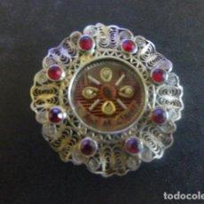 Antiquités: SAN ANTONIO MARIA CLARET ANTIGUO RELICARIO COLGANTE EN PLATA. Lote 211463926