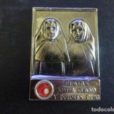 Antiquités: BEATAS JOSEFA RUANO Y DOLORES PUIG HERMANITAS DESAMPARADOS MARTIRES GUERRA CIVIL REQUENA RELICARIO. Lote 211464335