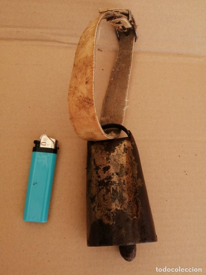 Antigüedades: cencerro o esquila antiguo - Foto 3 - 211471967