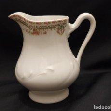 Antigüedades: ANTIGUA LECHERA S. XIX PORCELANA DE LIMOGES , FRANCIA.. Lote 211483486