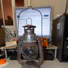 Antigüedades: FAROL LAMPARA DE ACEITE. Lote 211503539