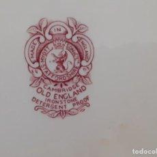 Antigüedades: CONJUNTO VAJILLA INGLESA. SON & CO. MYOTT STAFFORD SHIRE. Lote 211504559