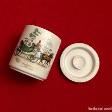 Antigüedades: TARRO - GALLETERO DE PORCELANA SAN CLAUDIO - SELLADO.. Lote 211506414
