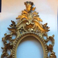 Antigüedades: ANTIGUA CORNUCOPIA FINALES SIGLO XIX,EN MADERA DORADA. Lote 211506740