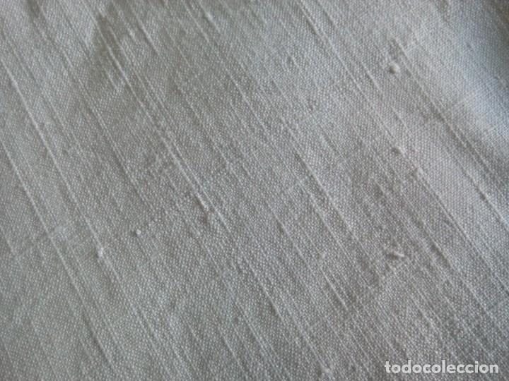 *SABANA BAJERA. LINO GRUESO. (RF527 /B) (Antigüedades - Hogar y Decoración - Sábanas Antiguas)