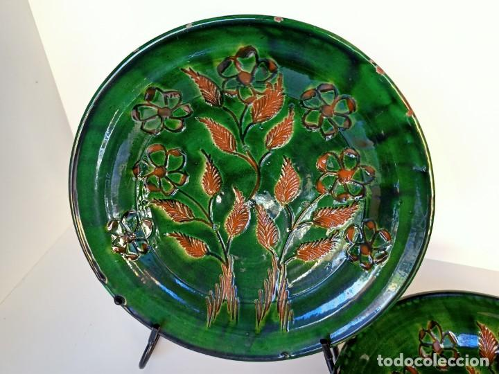 Antigüedades: Pareja de platos, 30cm, Tito - Foto 2 - 211564792