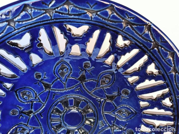 Antigüedades: Plato calado, cerámica de Úbeda, 30cm - Foto 2 - 211564907