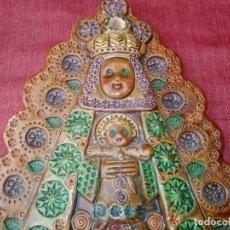 Antigüedades: VIRGEN CERÁMICA ANTIGUA. Lote 211573995