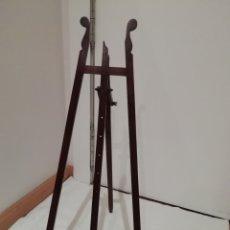Antigüedades: ATRIL DE MADERA ANTIGUO DE MADERA DE CAOBA. Lote 211574057