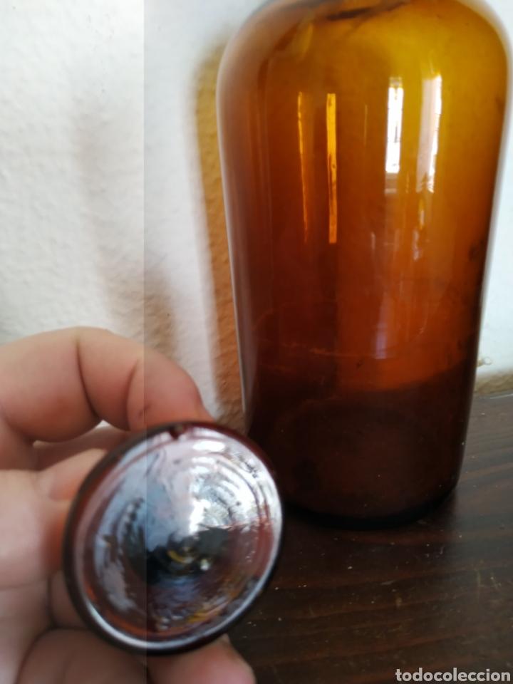 Antigüedades: Bote de farmacia .Ppios de siglo xx - Foto 5 - 211580469