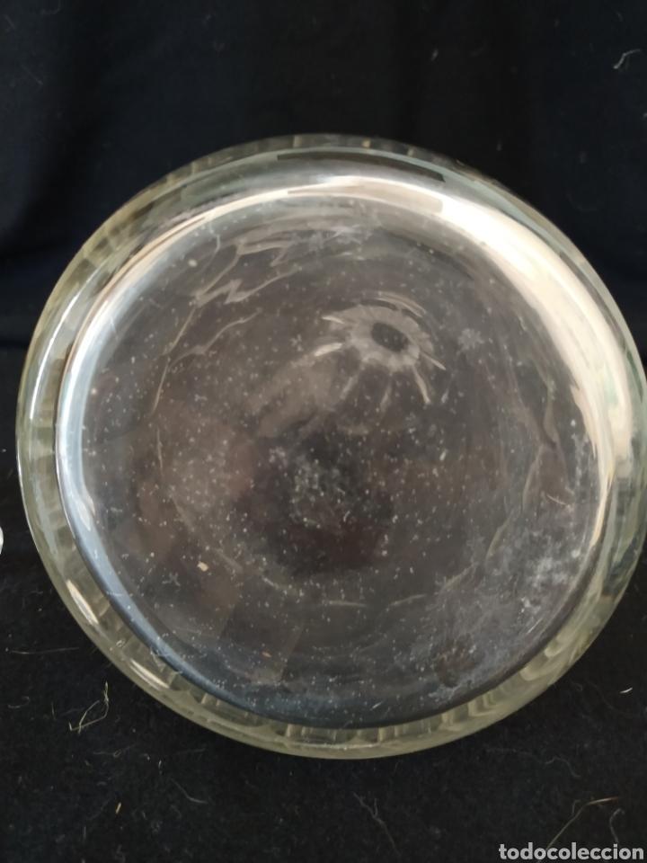 Antigüedades: Licorera inglesa de cristal tallado .Ppios siglo xx - Foto 9 - 211580932