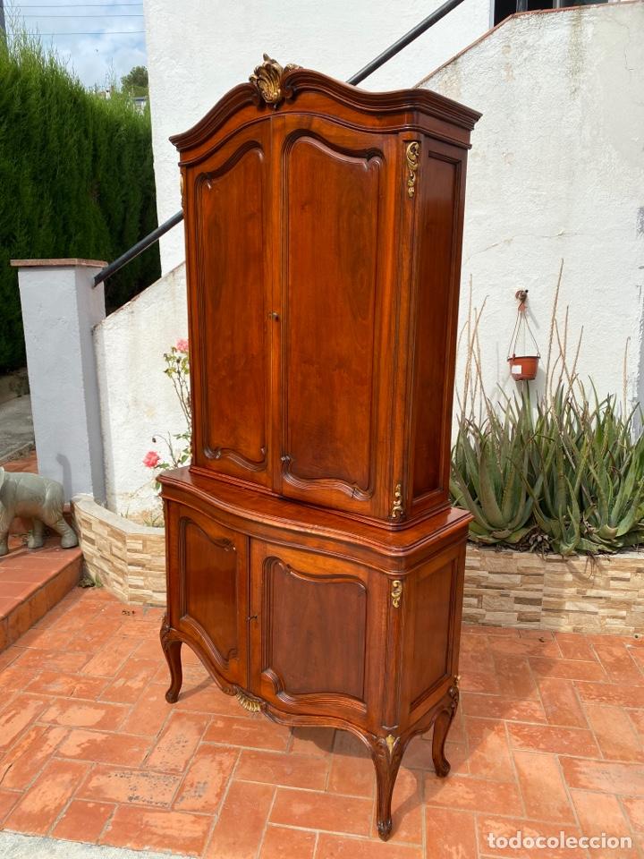 Antigüedades: Vitrina estilo Luis XV - Foto 2 - 211586749
