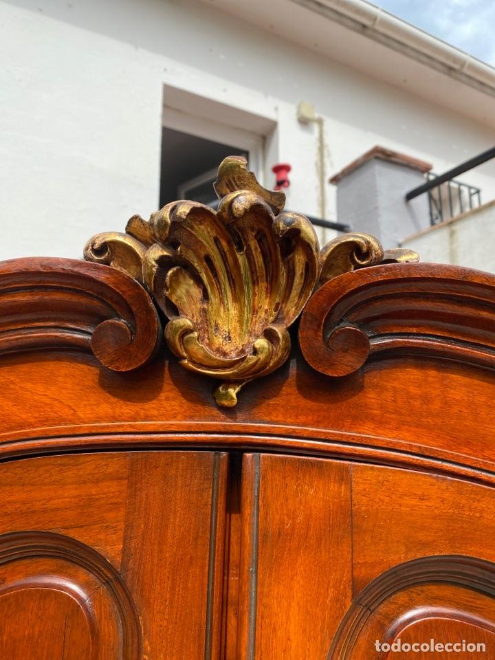 Antigüedades: Vitrina estilo Luis XV - Foto 4 - 211586749