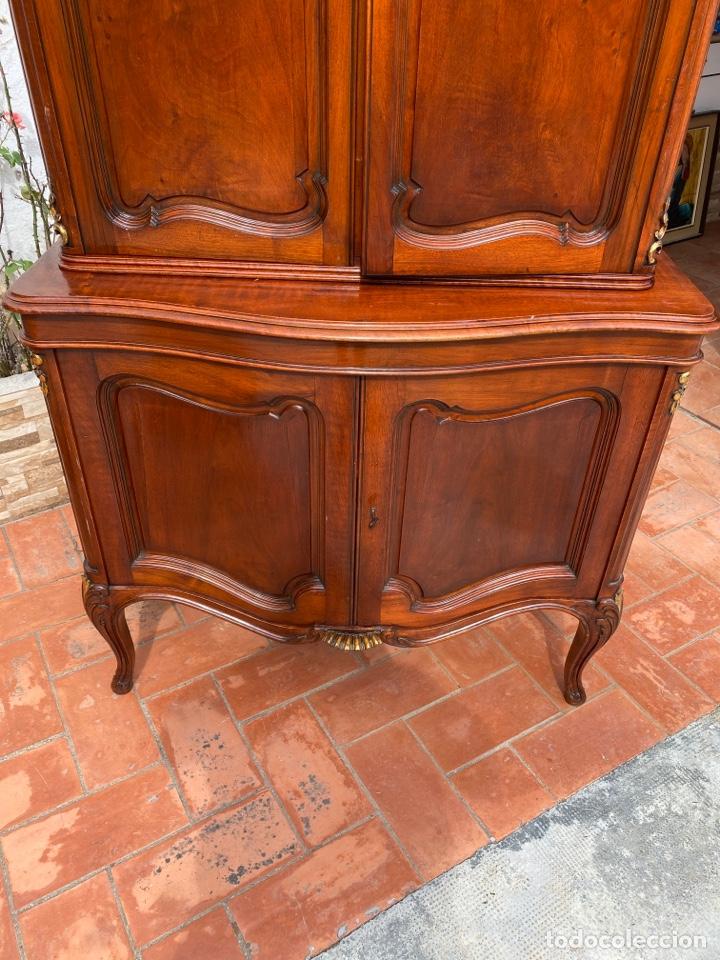 Antigüedades: Vitrina estilo Luis XV - Foto 6 - 211586749