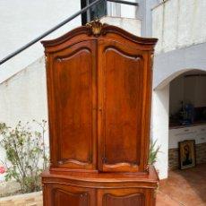 Antigüedades: VITRINA ESTILO LUIS XV. Lote 211586749