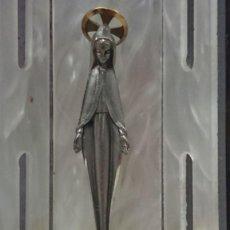 Antigüedades: PEQUEÑO ALTAR CAPILLA CON LA VIRGEN MARIA LA INMACULADA CONCEPCIÓN. Lote 211592890