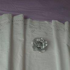 Antigüedades: BONITA SÁBANA ALGODÓN , 158X248 CM. Lote 211607549