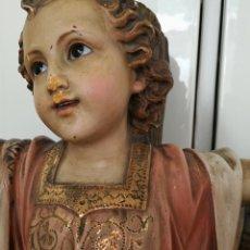 Antigüedades: ANTIGUO NIÑO JESUS GRAN TAMAÑO OLOT. Lote 211607796