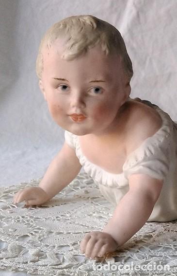 BEBÉ PIANO. NIÑO PIANO. BABY PIANO. BISCUIT. ALEMANIA, HEUBACH. PRINCIPIO SIGLO XX (Antigüedades - Porcelana y Cerámica - Alemana - Meissen)