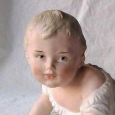 Antigüedades: BEBÉ PIANO. NIÑO PIANO. BABY PIANO. BISCUIT. ALEMANIA, HEUBACH. PRINCIPIO SIGLO XX. Lote 211624454