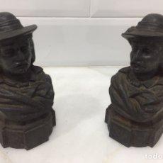 Antigüedades: ANTIGUA PAREJA DE MORILLOS FRANCESES DEL SIGLO XIX. Lote 211628075
