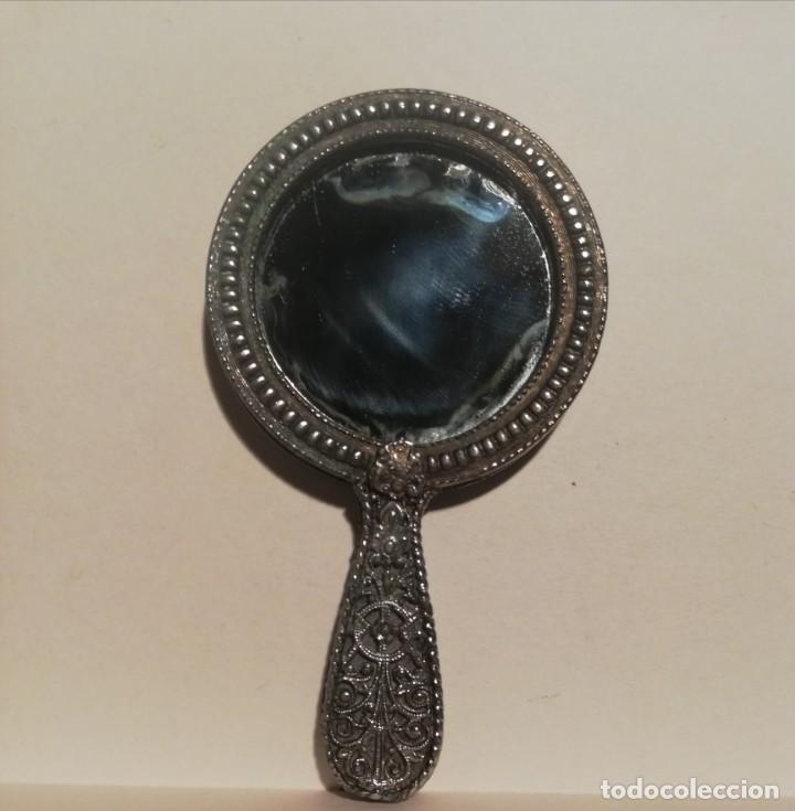Antigüedades: Antiguo espejo - Foto 3 - 211633596