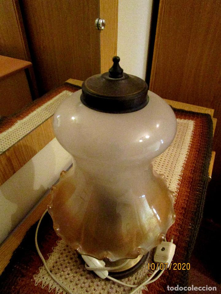 Antigüedades: ANTIGUA Y PRECIOSA LAMPARA DE SOBREMESA - Foto 3 - 211624439